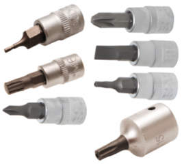 Bit sockets 1/4'' (6,3 mm)