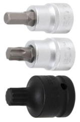 Bit sockets 3/4'' (20 mm)