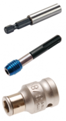 Bit holders & adapters