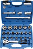 Socket sets 1/2'' (12,5 mm)