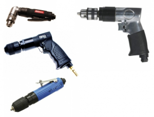 Compressed air drill