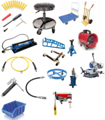 Workshop equipment