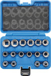 Socket Set, 12-point 12.5 mm (1/2) drive 8 - 24 mm 16 pcs.