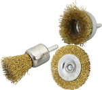 3-piece Steel Wire Brush Set