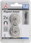 Magnet hook around diameter 34 mm 2 pcs