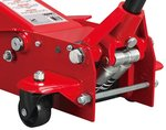 Hydraulic jack, double pump 3 tons
