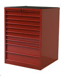 Cabinet of drawers 10 drawers 715x725x980mm