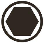 Bit Socket 6.3 mm (1/4) Drive internal Hexagon