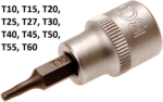 Bit Socket 10 mm (3/8) Drive T-Star (for Torx)
