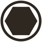 Impact Bit Socket 20 mm (3/4) Drive internal Hexagon