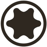 Bit (3/8) drive T-Star (for Torx)