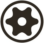 Bit Socket (3/8) Drive T-Star tamperproof (for Torx)