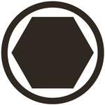 Bit 10mm (3/8) Drive internal Hexagon