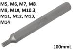 Bit length 100mmL (3/8) Drive Spline (for RIBE)