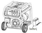 Gasoline generator 3,8 kw