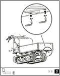 Mini crawler platform truck