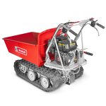 Mini crawler dumper with tipper 6.5hp