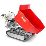 Mini crawler dumper with tipper 500kg