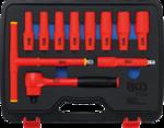 VDE Socket Set 12.5 mm (1/2) Drive 10 - 24 mm 11 pcs