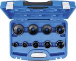 Groove Nut Socket Set outside taps KM4 - KM12 9 pcs