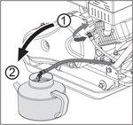 Vibratory plate with petrol engine 8.2kn