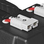 Battery box 30x20x20cm 2x USB - 1x 12V socket - Voltmeter - 2x Anderson connector