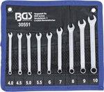 Combination Spanner Set 4 - 10 mm 9 pcs