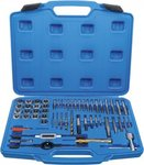 Tap and Die Set Inch Sizes 1/4 - 1 56 pcs