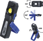 COB LED Workshop Lamp with Magnet and Hook foldable