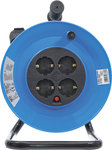 Cable Reel 25 m 3x1,5 mm² 4 Socket Outlets IP 20 3000 W