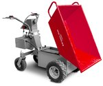 Electric mini dumper 500kg hydraulic