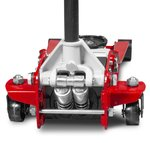 Hydraulic jack extra low, double pump 2.5 tons
