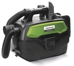 Portable wet and dry vacuum cleaner battery