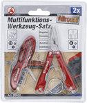 Multifunctionele gereedschapsset | roestvrij | 2-dlg
