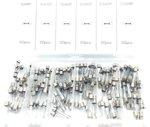 Assortiment Quick Blow Glass Fuse 5 Amp- 30 Amp 120 Pcs