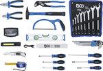 Tool Carrying Case Reinforced Plastic incl. Tool Assortment 66 pcs