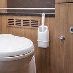 Toilet brush compact