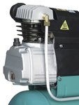 Mobile compressor 10 bar 25l 132l/min
