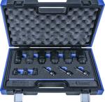 Drive Shaft Sockets, 12 pcs., 1/2, bi-hexagon / spline / hexagon