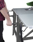 Mobile table saw, diameter 315 mm