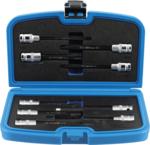 Bit Socket / Socket Set | for cylinder Head screws | 12.5 mm (1/2) drive | 9 pcs.