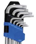 L-Type Key Set extra long T-Star (for Torx) T10 - T50 9 pcs
