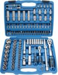 Socket Set 6.3 mm (1/4) + 12.5 mm (1/2) drive 108 pcs