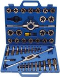 Tap and Die Set Inch Sizes 1/4 -1 45 pcs