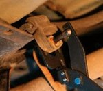 Removing Pliers for Exhaust Rubbers