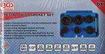 6-piece Special Twist Socket Set, 22-41 mm, 1/2+3/4