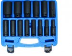 14-piece 1/2 Impact Socket Set, 10-32 mm