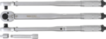 Torque Wrench + Adaptor + Extension Bar 12.5 mm (1/2) 28 - 210 Nm