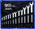 Combination Spanner Set offset 6 - 22 mm 12 pcs