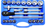 Socket Set, 12-point | 20 mm (3/4) drive | 21 pcs.